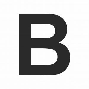 Large Printable Letter B