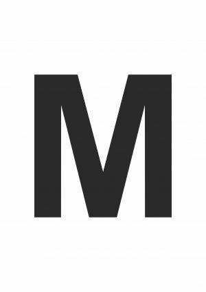 Large Letter M
