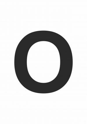 Large Letter O