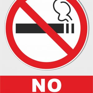 No smoking - Prohibiting Sign
