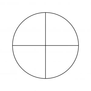 Pie Chart Template - 4 Pieces