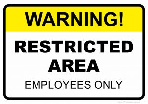 graphic relating to Printable Employees Only Sign named No cost Printable Indications: Minimal Room - Cost-free Printables