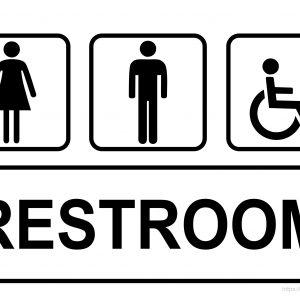Restroom Sign Printable