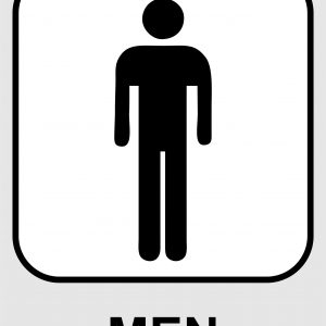 Men's Toilet Sign Printable